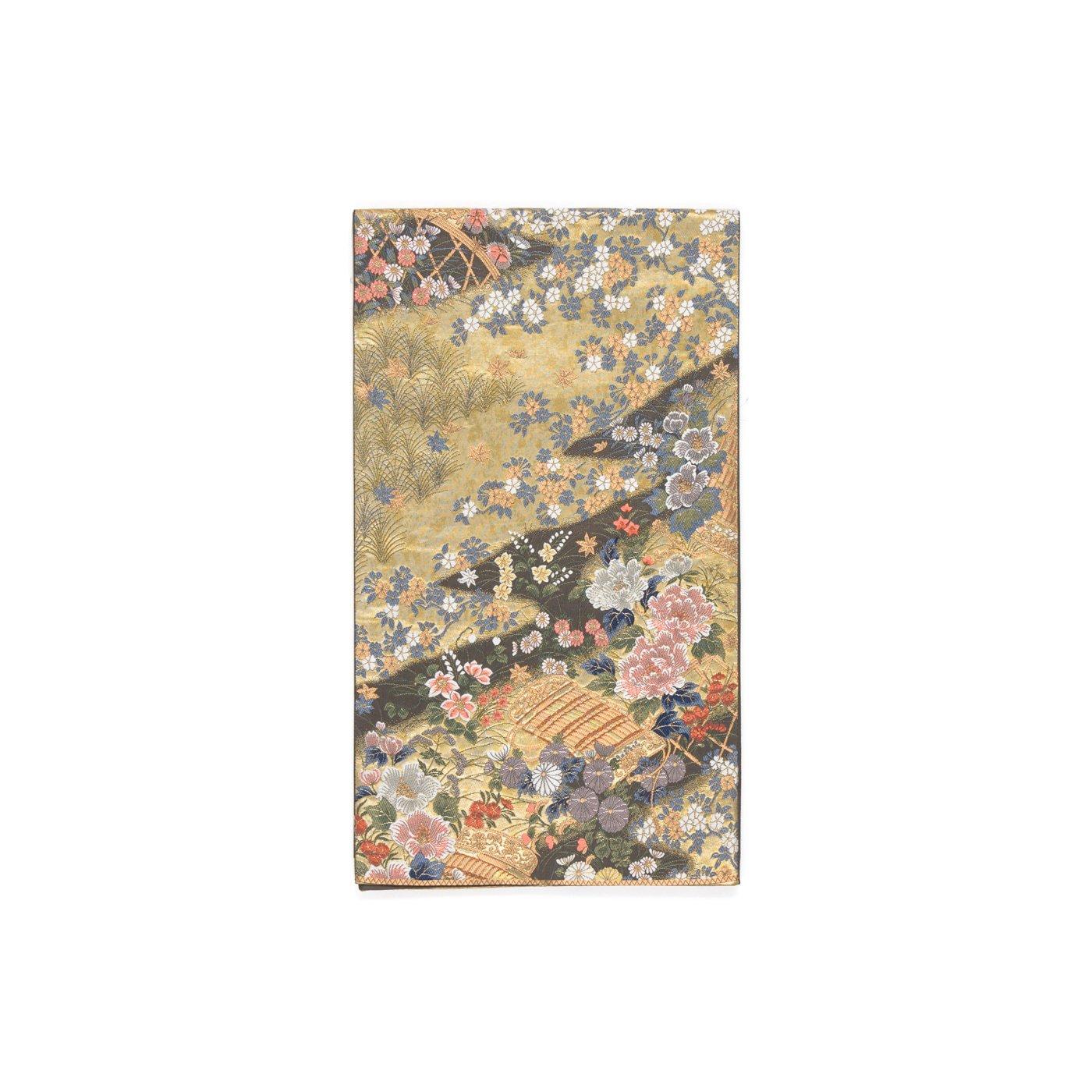 「袋帯●鎧威に花」の商品画像