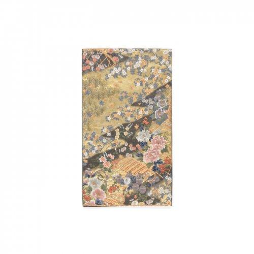 袋帯●鎧威に花のサムネイル画像