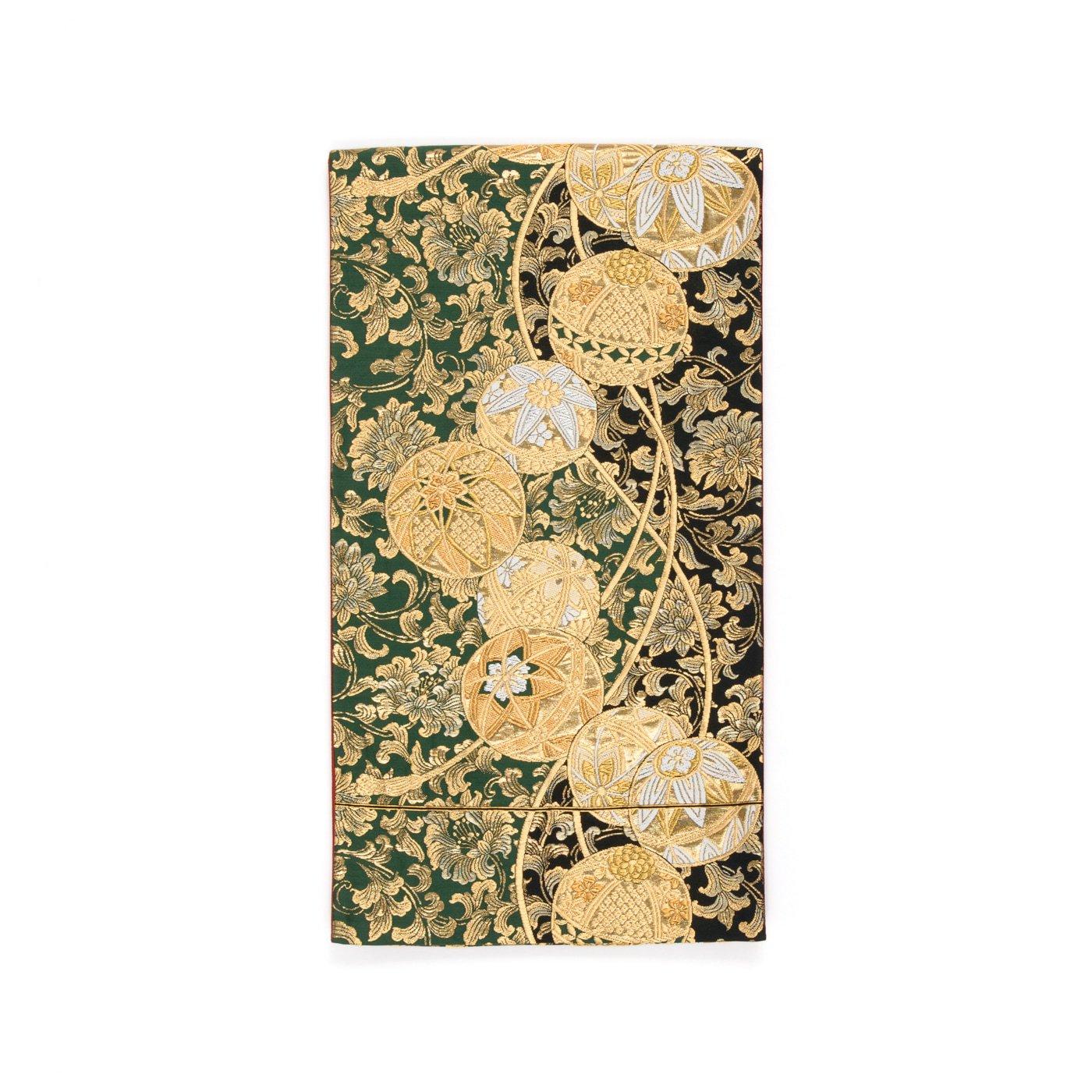 「袋帯●金の丸と唐花」の商品画像