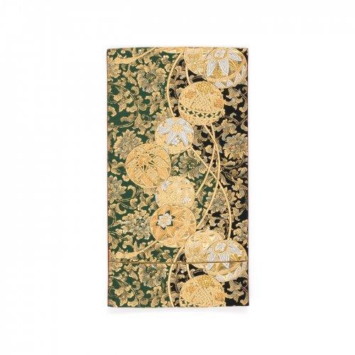 袋帯●金の丸と唐花のサムネイル画像
