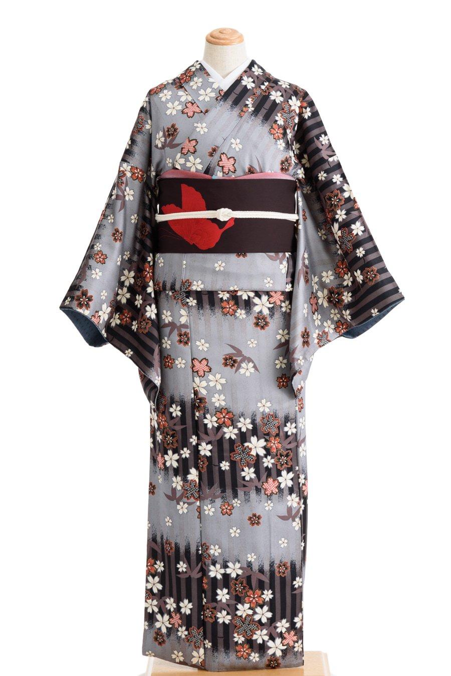「竹の縞に桜」の商品画像