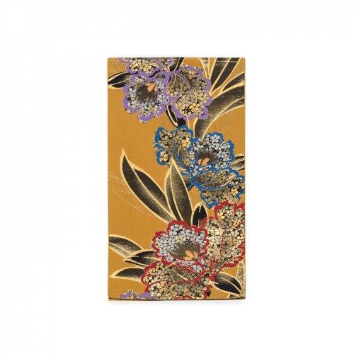 袋帯●三色の大きなカトレアのサムネイル画像