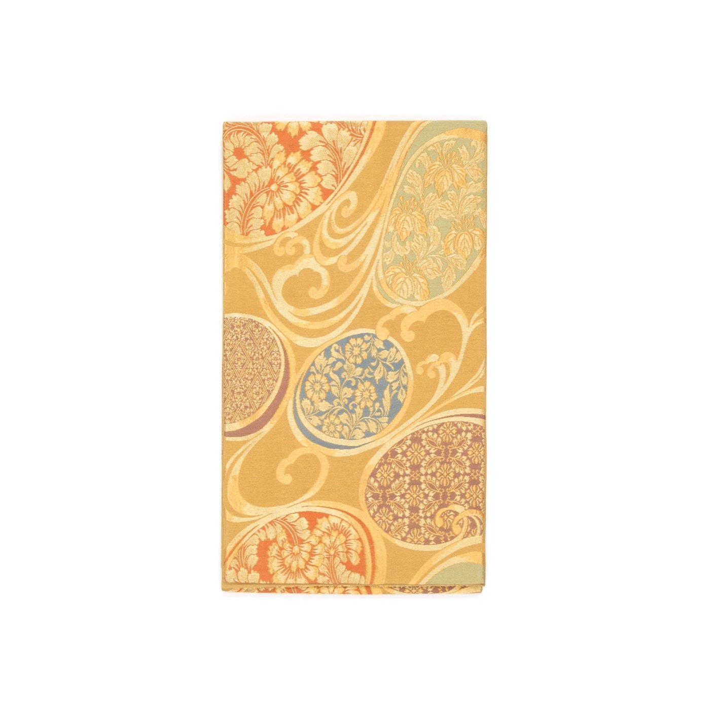 「袋帯●波の丸に唐花など」の商品画像