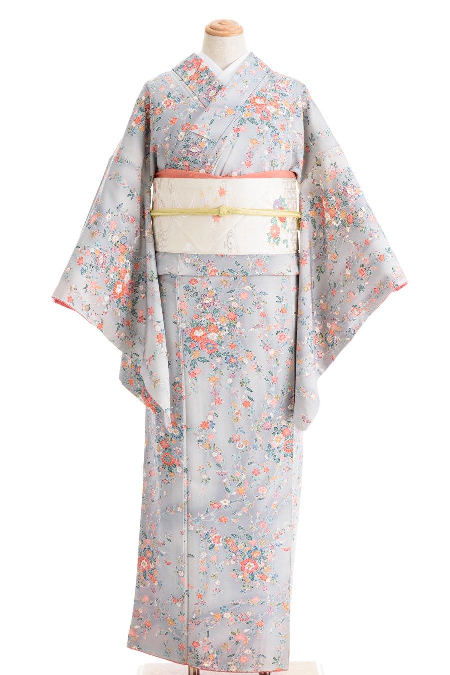 「グレー暈し 枝垂れ桜や牡丹菊など」の商品画像