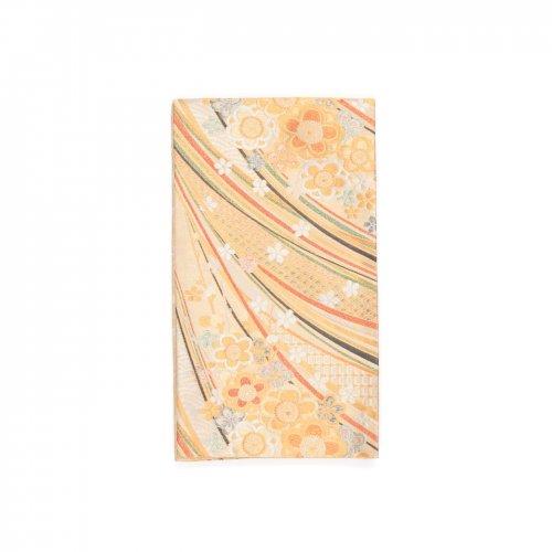 袋帯●八重梅と虹のような曲線のサムネイル画像