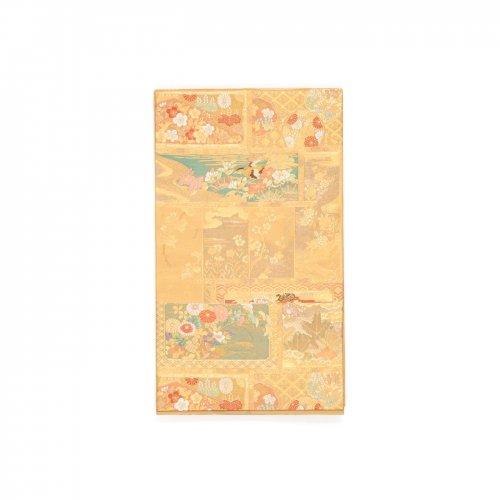 袋帯●飾棚花文様のサムネイル画像
