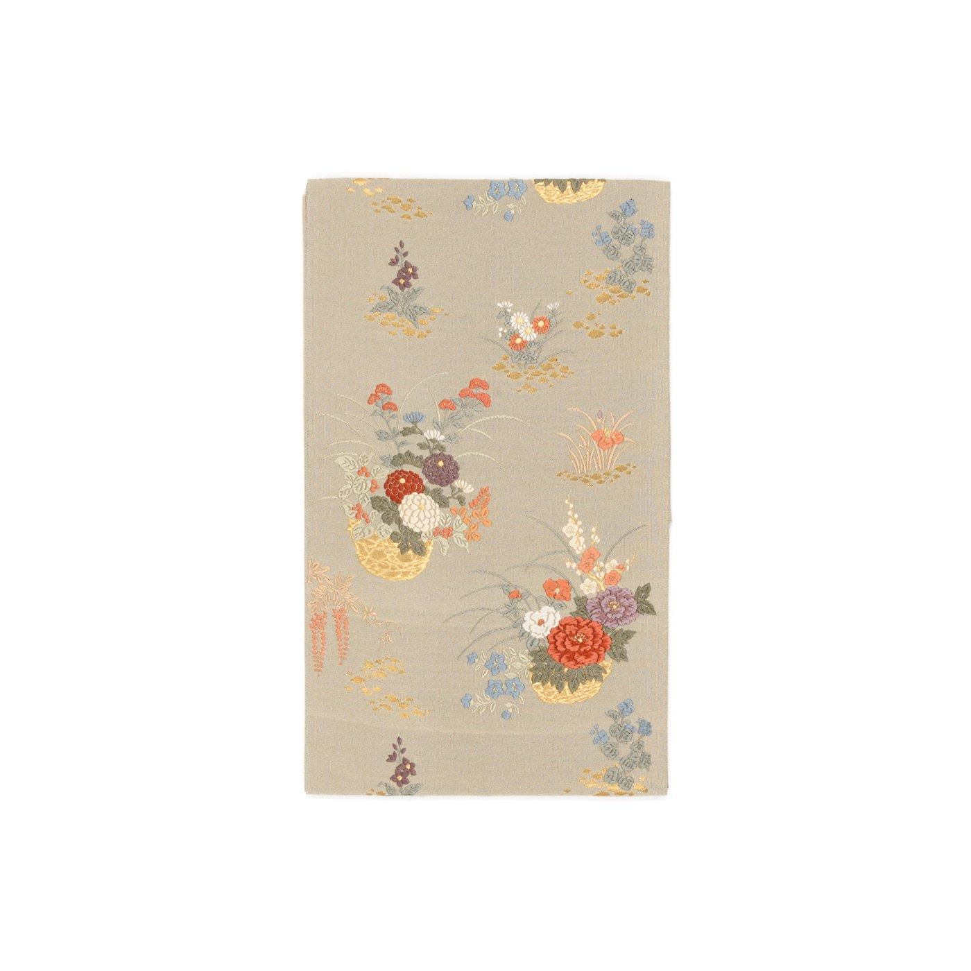 「袋帯●花籠」の商品画像