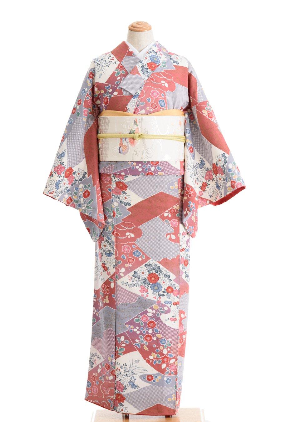 「菊 梅 牡丹 桜など ドットの雲取り」の商品画像