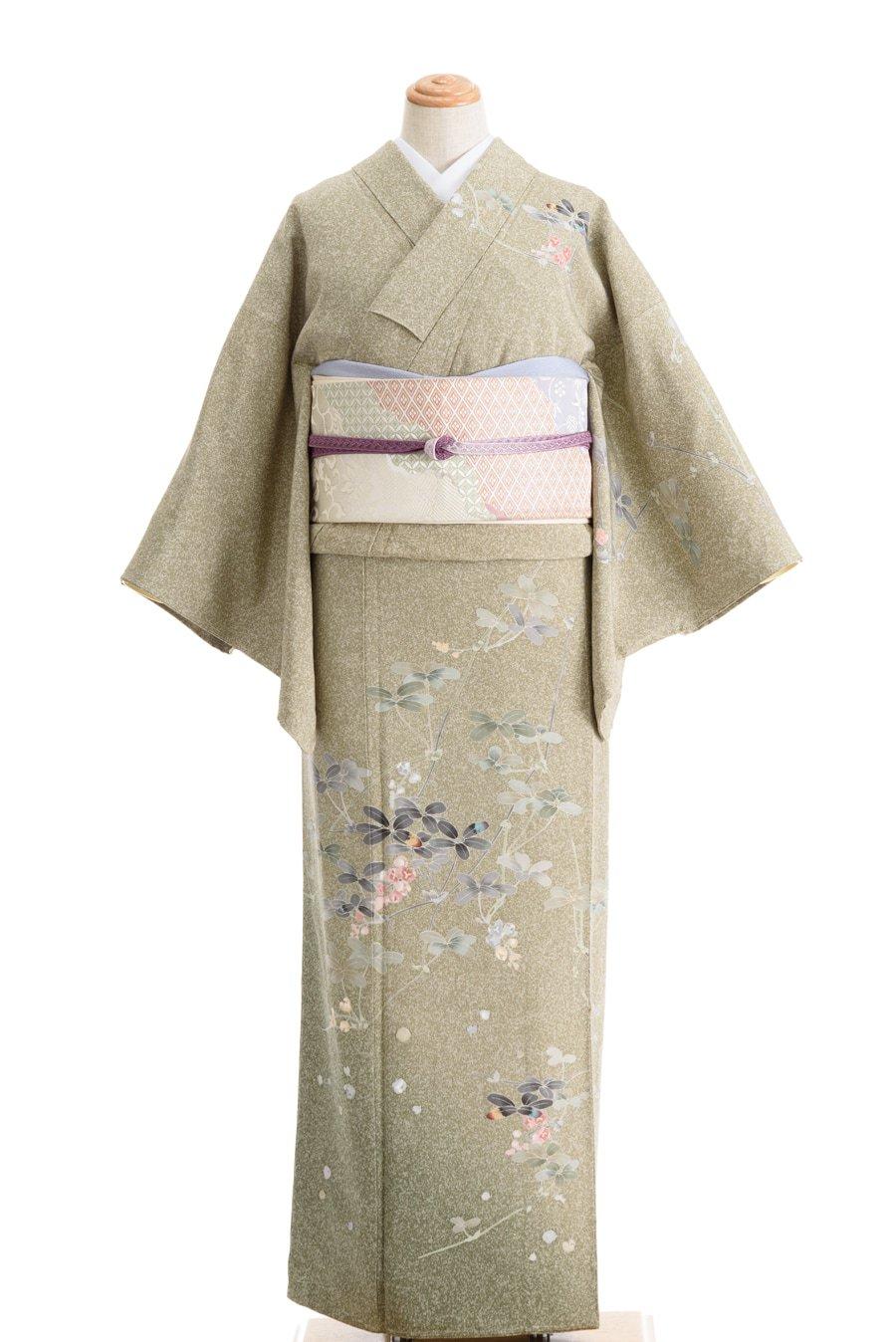 「訪問着 加賀調 丸い葉と小花」の商品画像