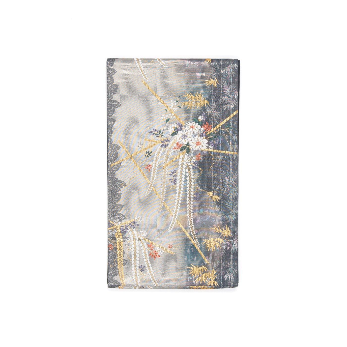 「袋帯●藤と鉄仙」の商品画像