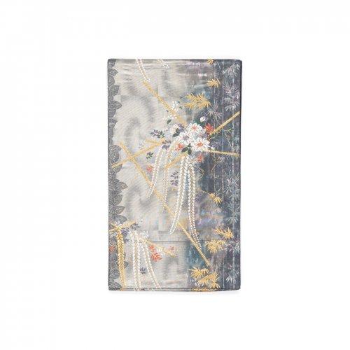 袋帯●藤と鉄仙のサムネイル画像