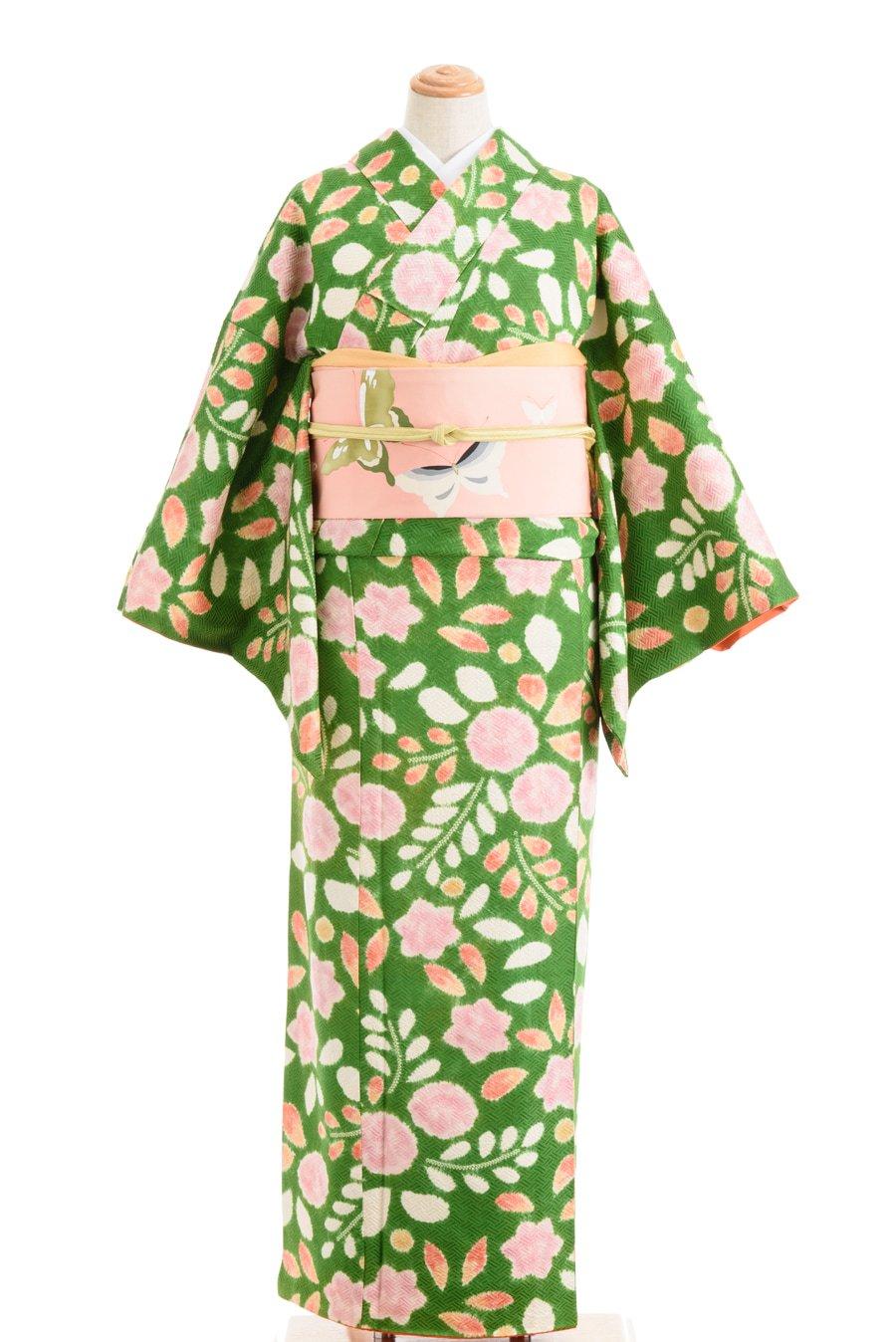 「鮮やかグリーン 絞りの桐」の商品画像
