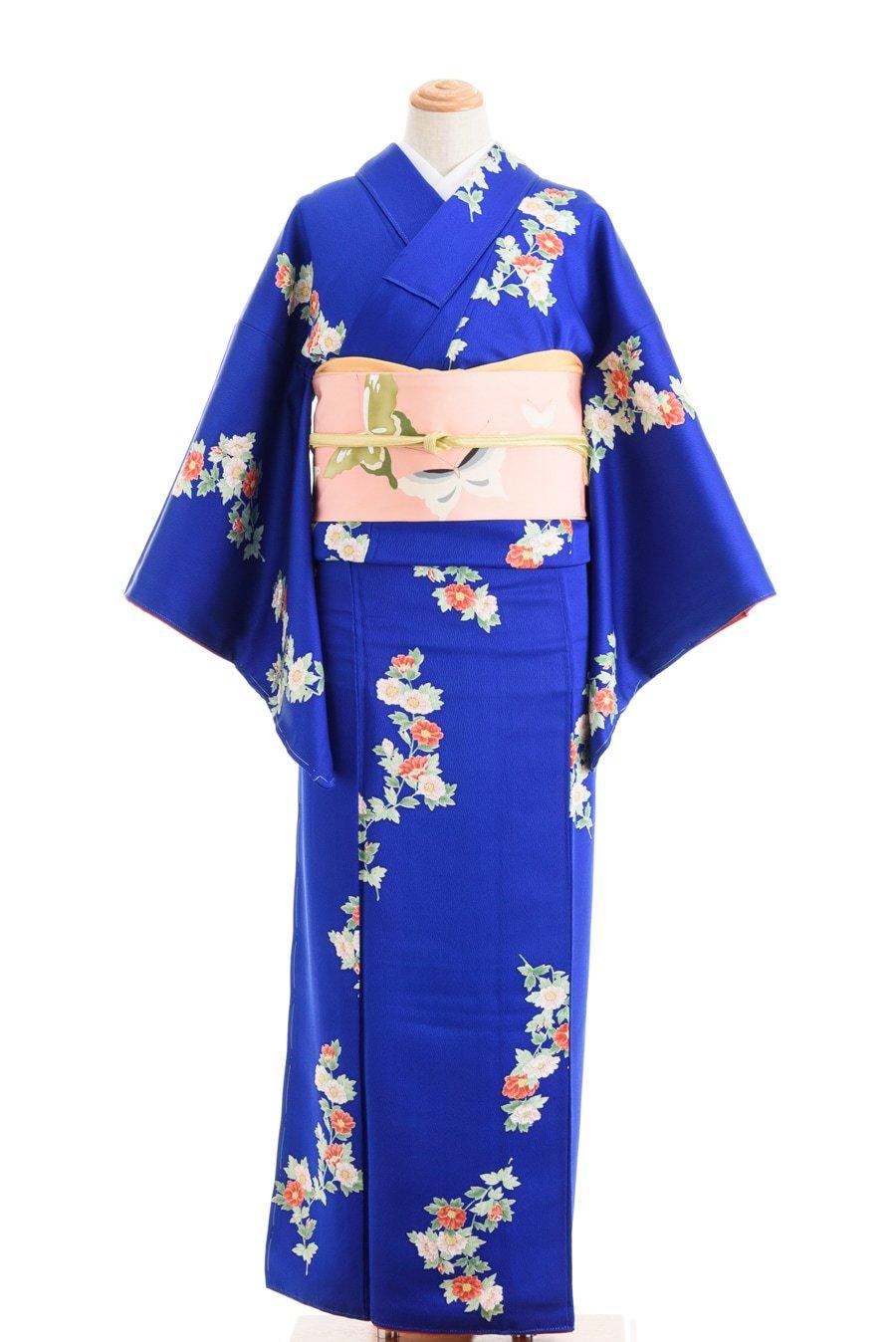 「鮮やかなブルー 小さな牡丹」の商品画像