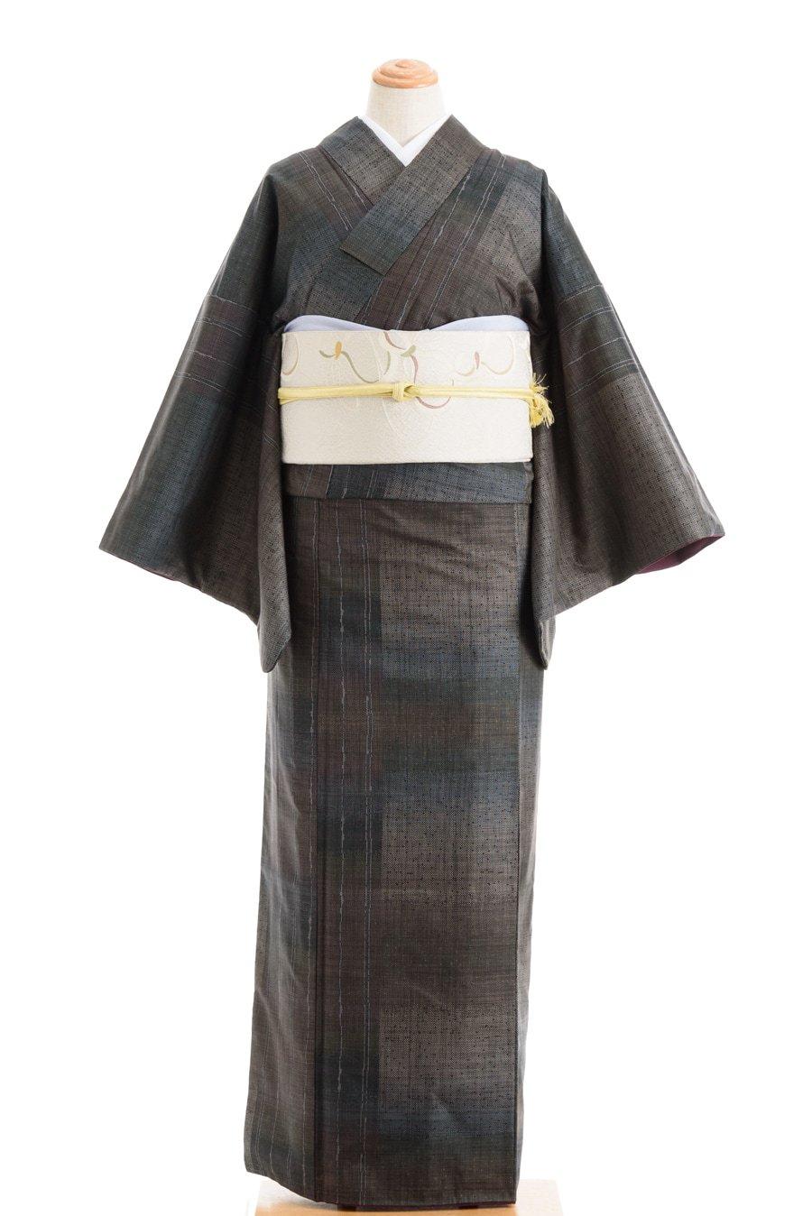 「大島紬 格子と縞」の商品画像