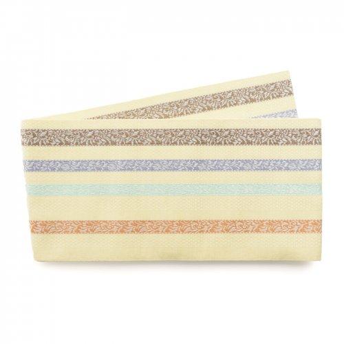 博多小袋帯 唐花細縞のサムネイル画像