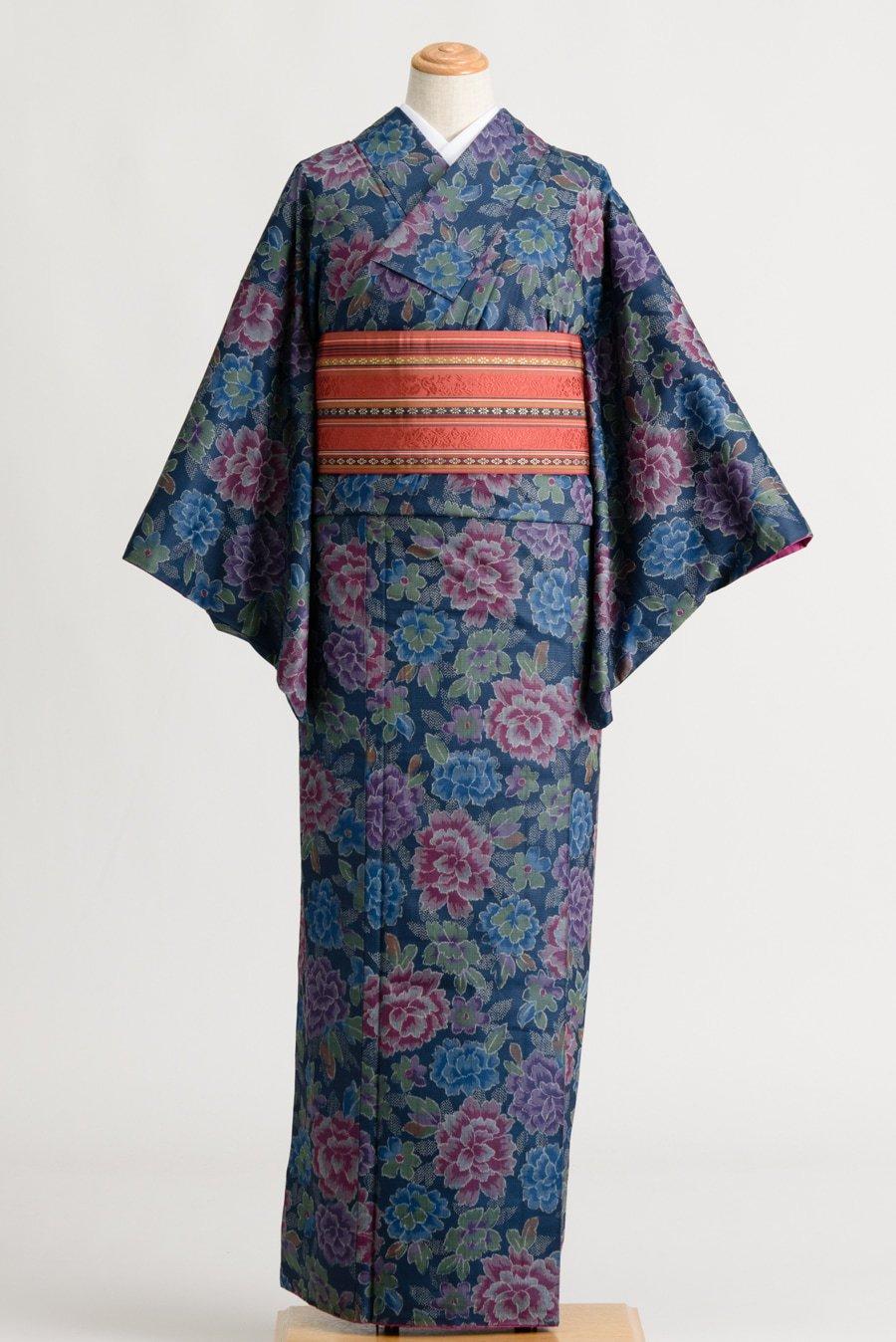 「紬 大輪牡丹」の商品画像