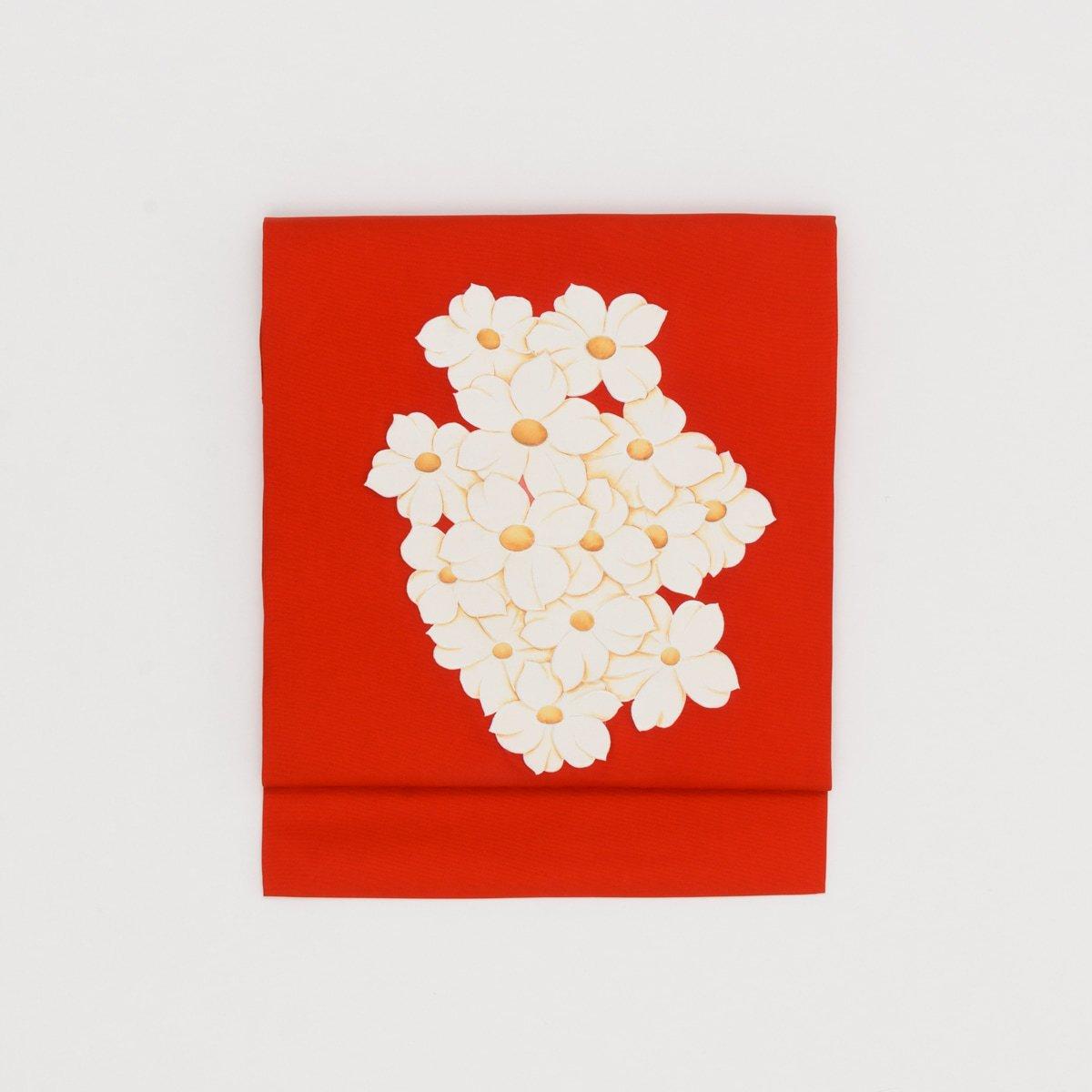 「塩瀬 白い花のブーケ」の商品画像