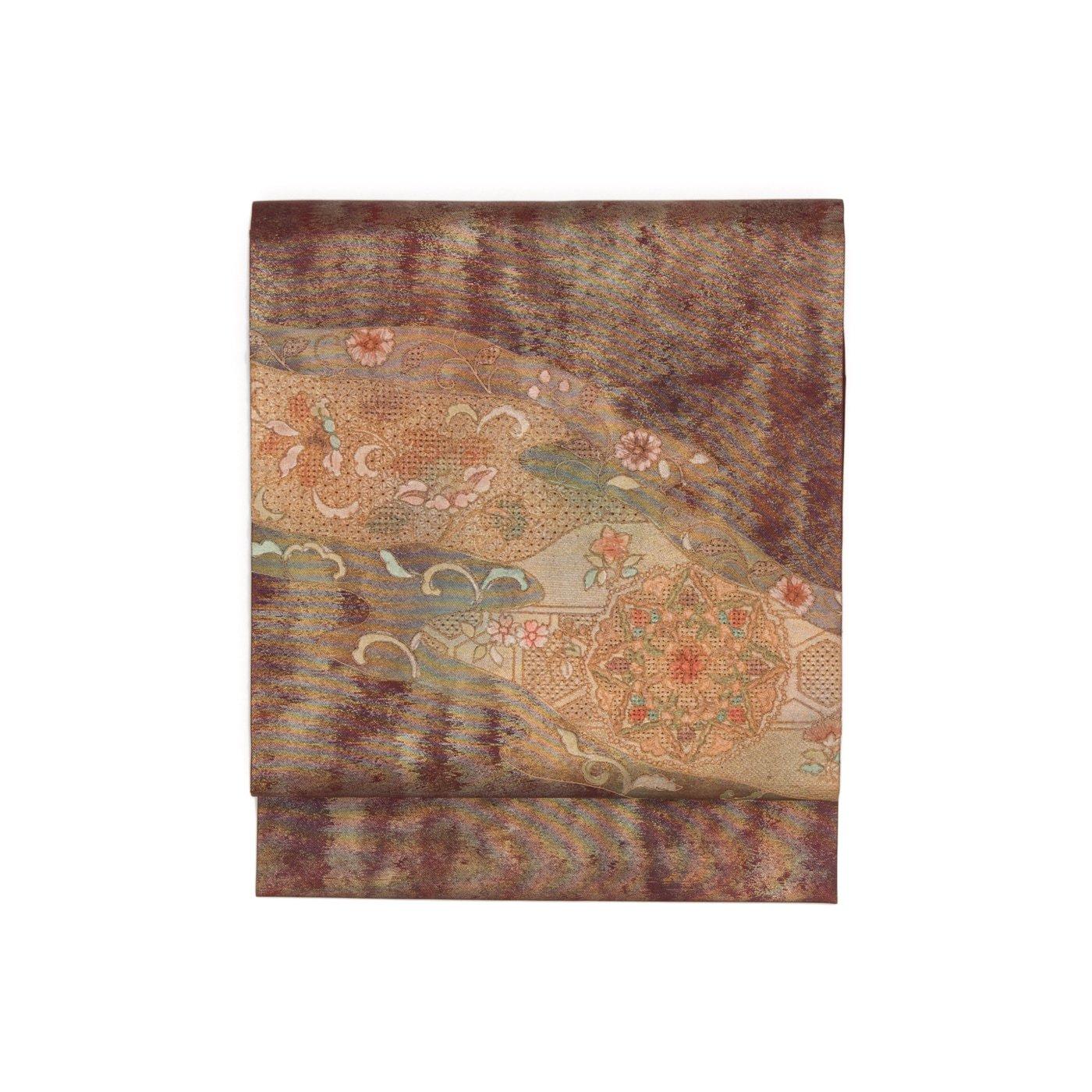 「汕頭刺繍 霞に華紋」の商品画像