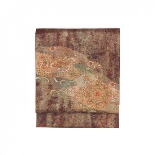 汕頭刺繍 霞に華紋