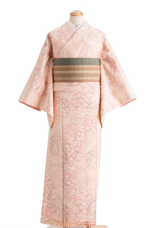 「紬 桃色牡丹」の商品画像