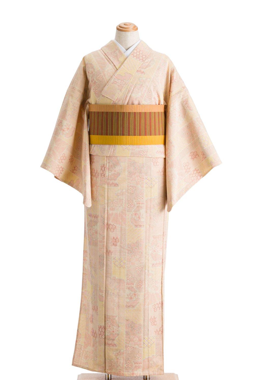 「単衣 紬 縞に壺」の商品画像