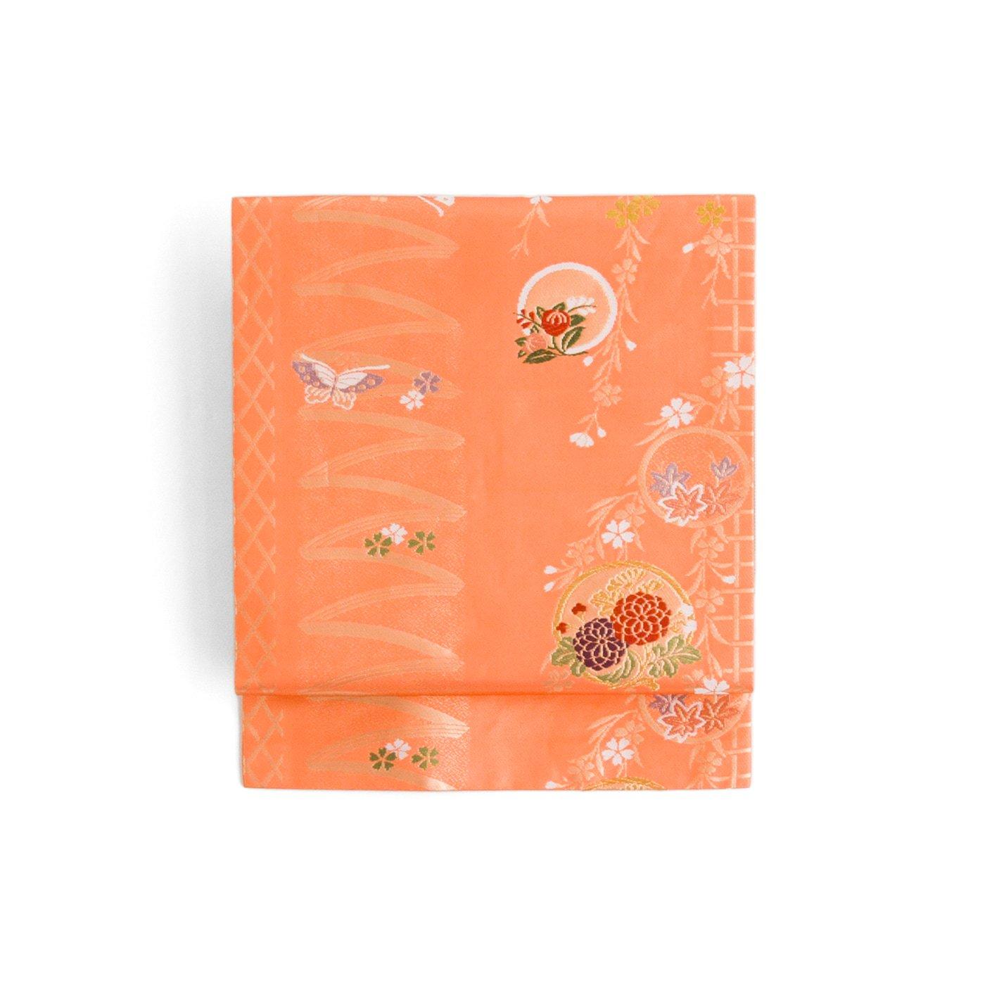 「丸に花 桜と蝶々」の商品画像