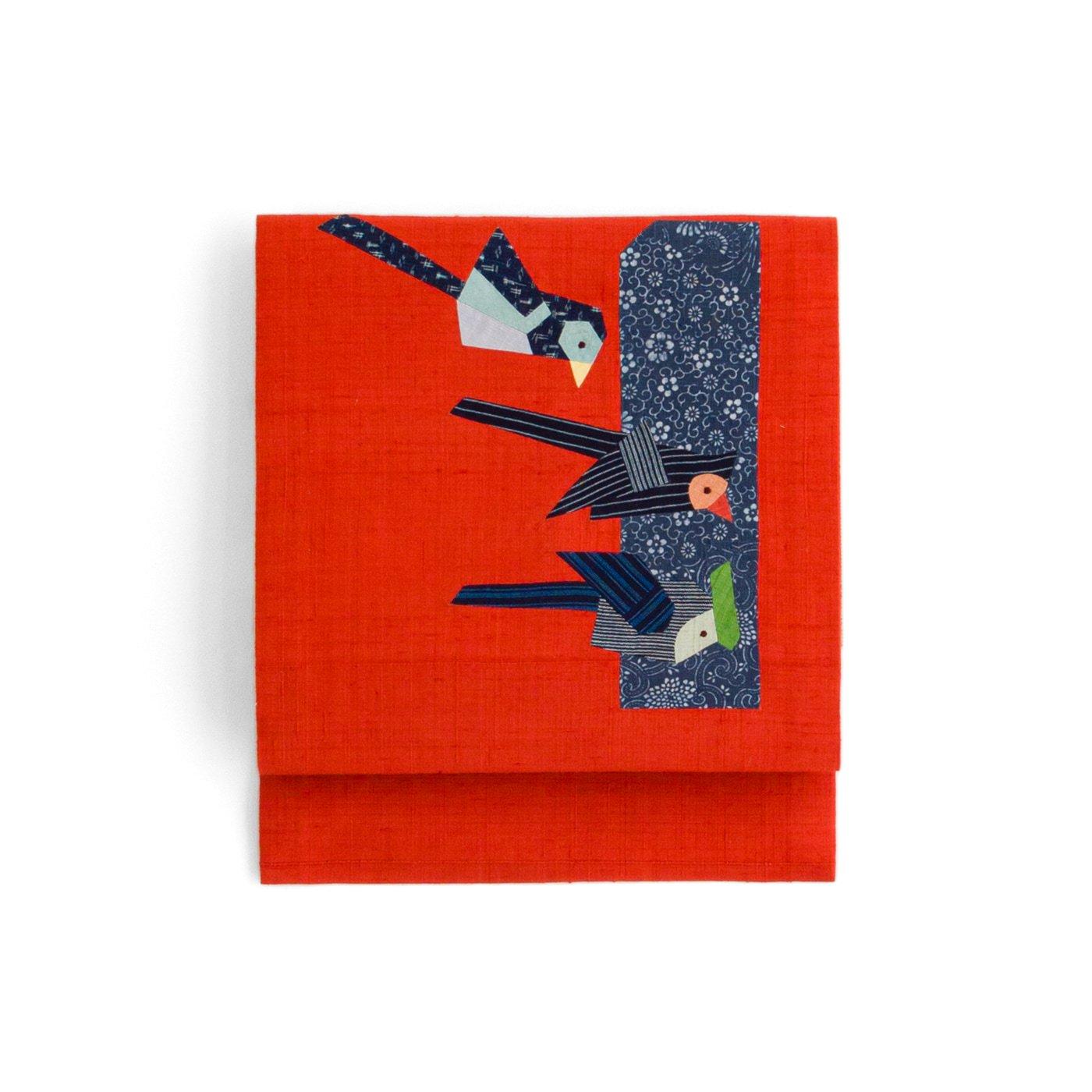 「パッチワーク 三羽の鳥」の商品画像