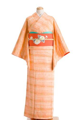 ピンクオレンジ 暈し横縞のサムネイル画像