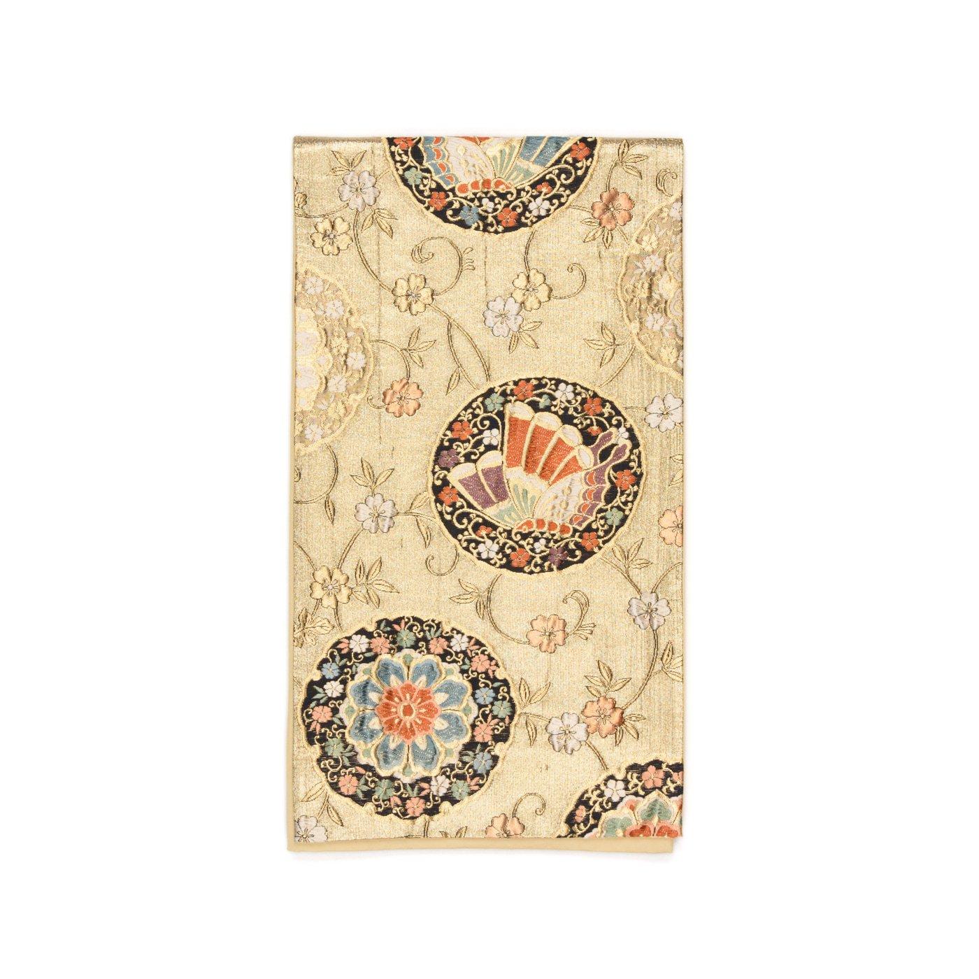 「袋帯●花と揚羽蝶」の商品画像
