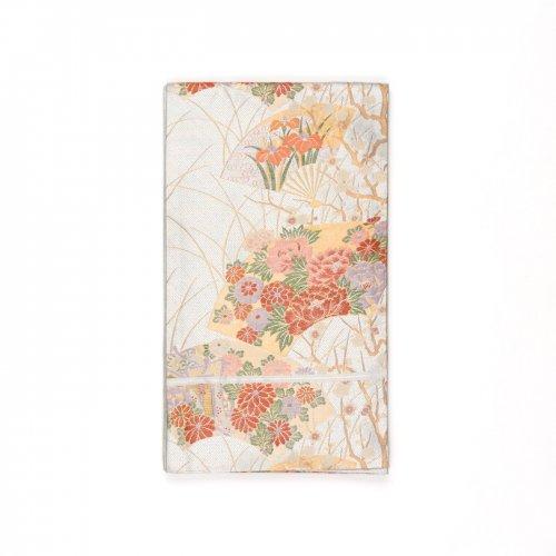 袋帯●花の扇