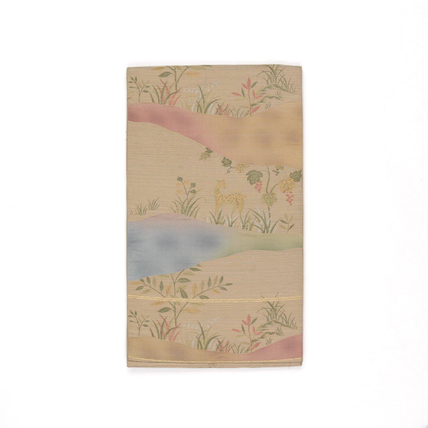 「洒落袋帯●小鹿と葡萄」の商品画像