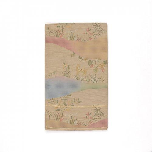 洒落袋帯●小鹿と葡萄