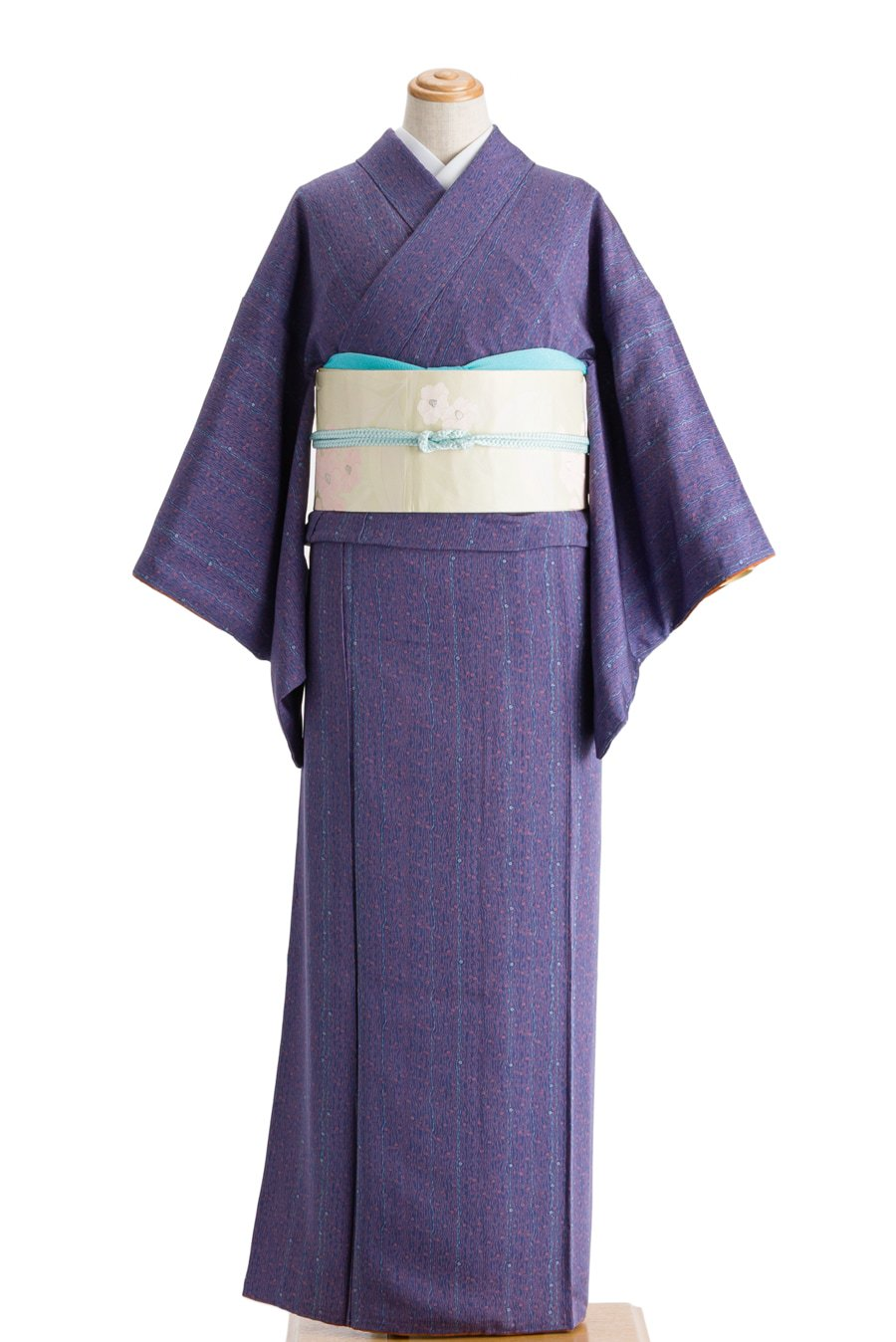 「青紫地 桜流水」の商品画像
