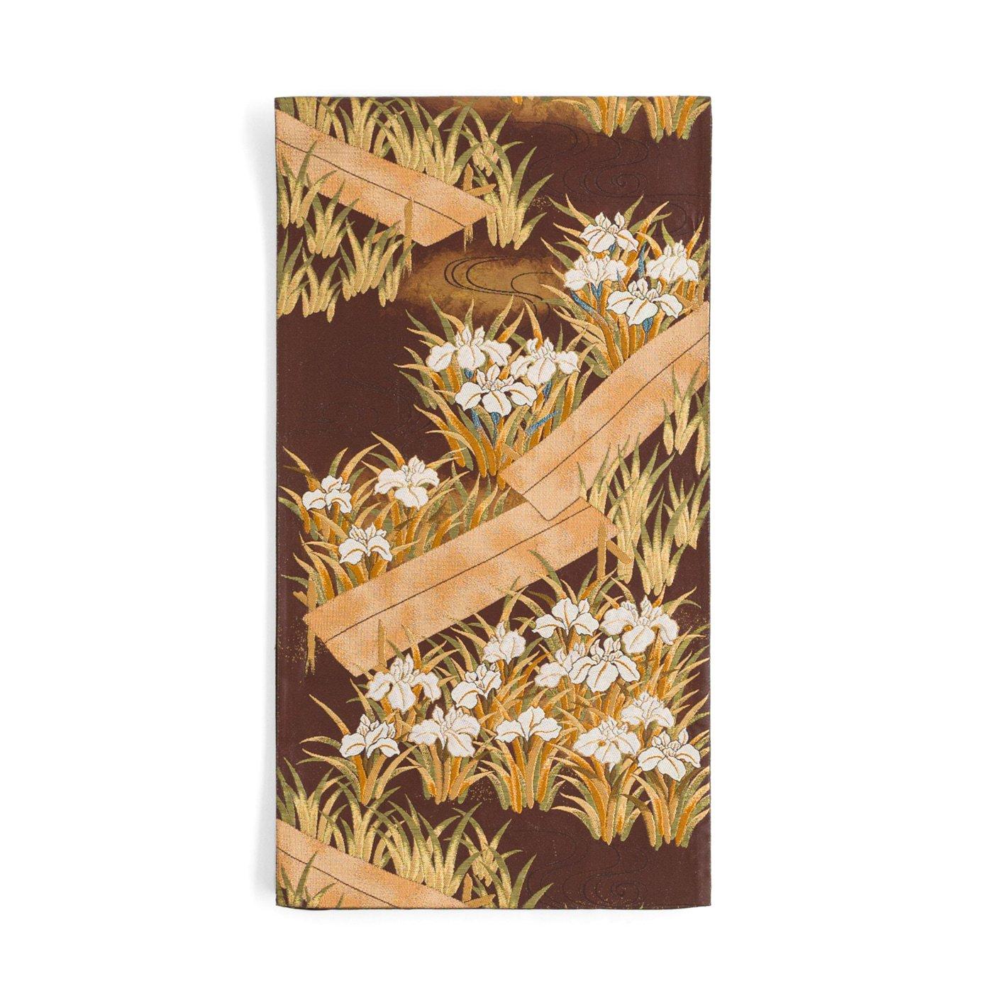 「袋帯●杜若と木道」の商品画像