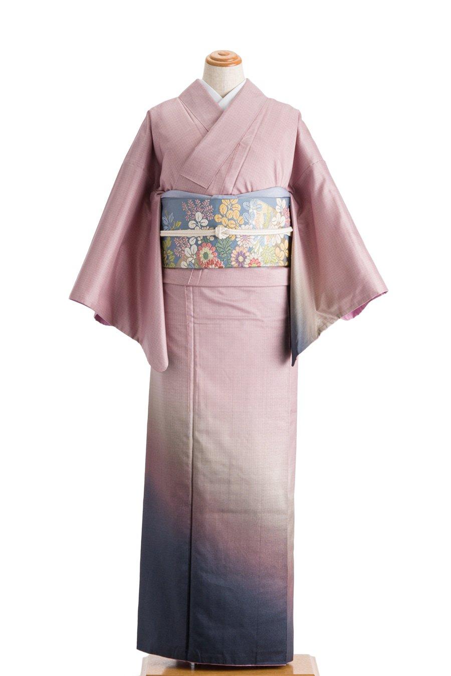 「染め大島紬 付け下げ グラデーションカラー」の商品画像