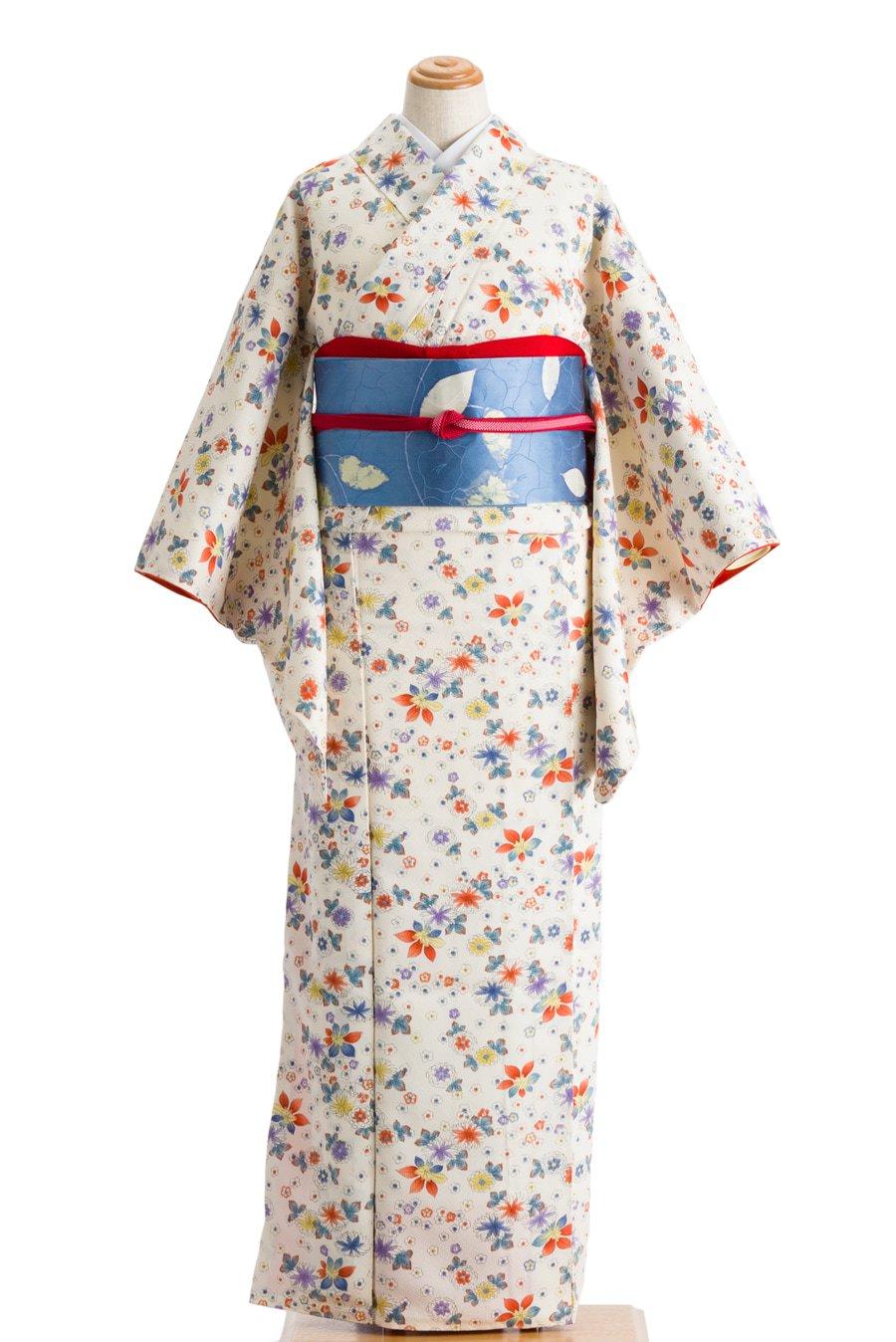 「白地 菊や楓など」の商品画像