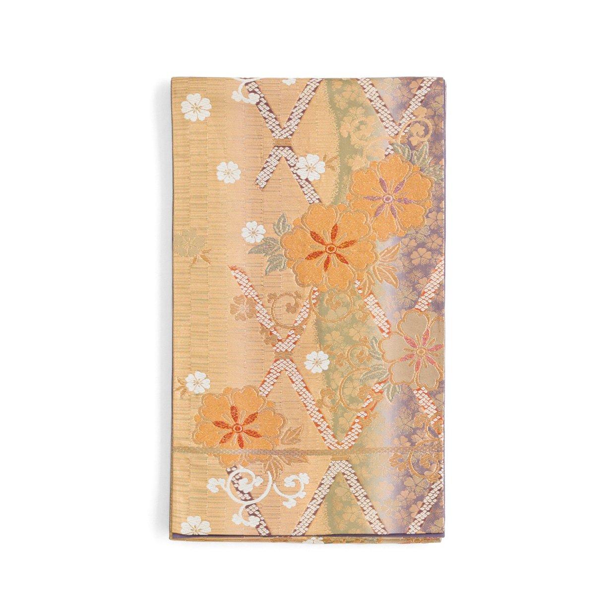「袋帯●格子桜」の商品画像