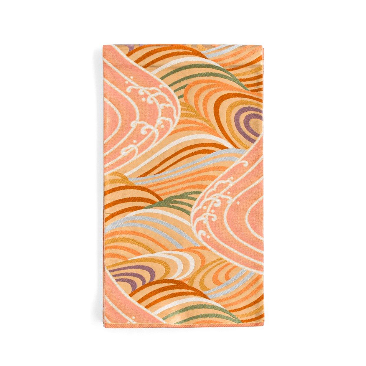 「袋帯●色とりどりの波」の商品画像