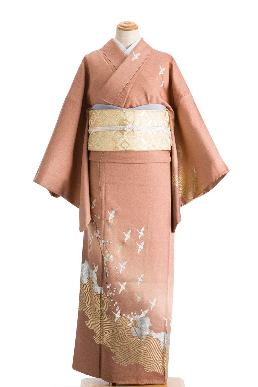 「訪問着 梅と鶴」の商品画像