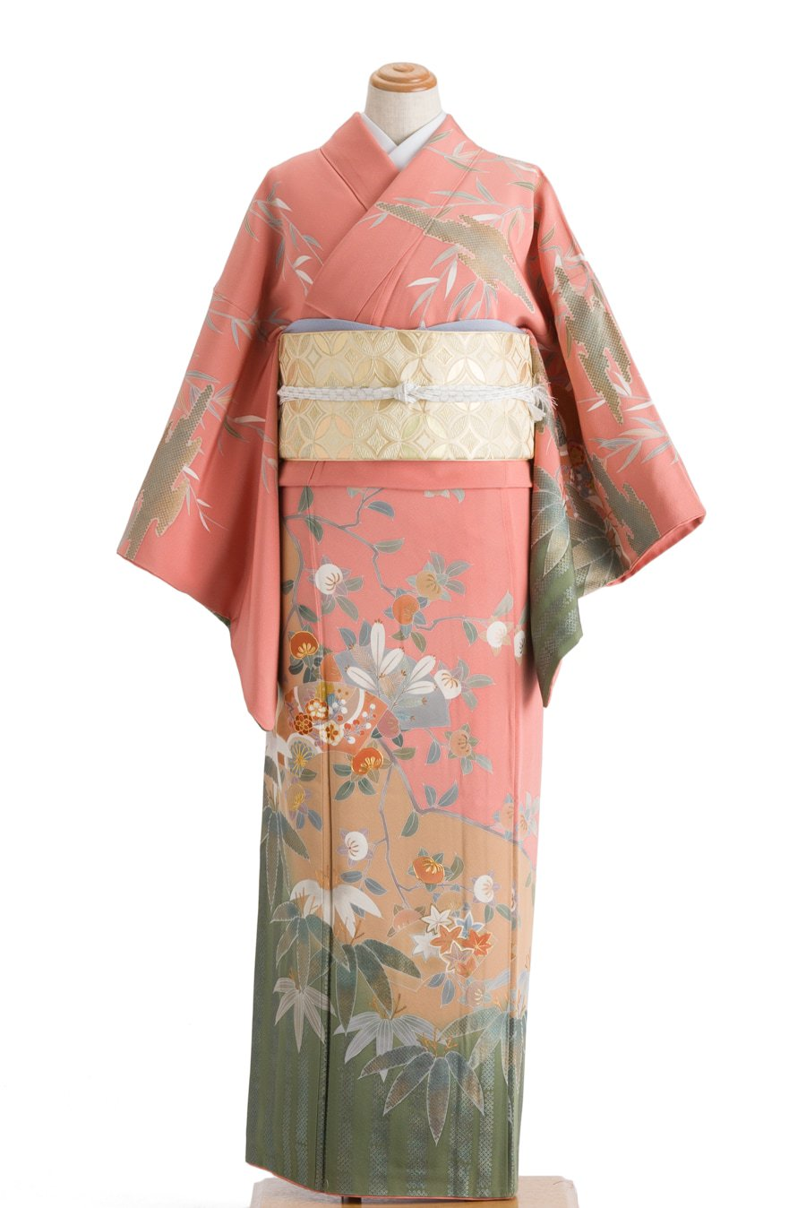 「訪問着 竹に橘 柳など」の商品画像
