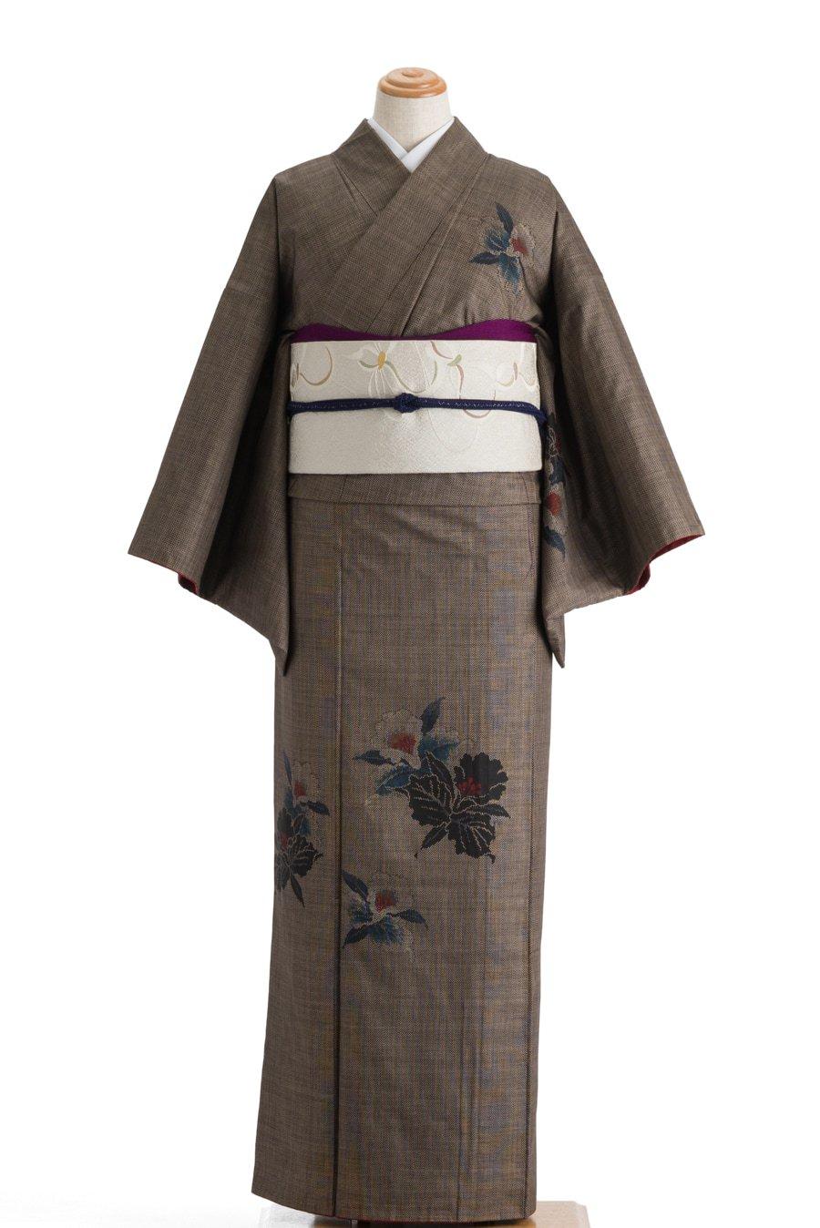 「大島紬 付け下げ カトレア」の商品画像