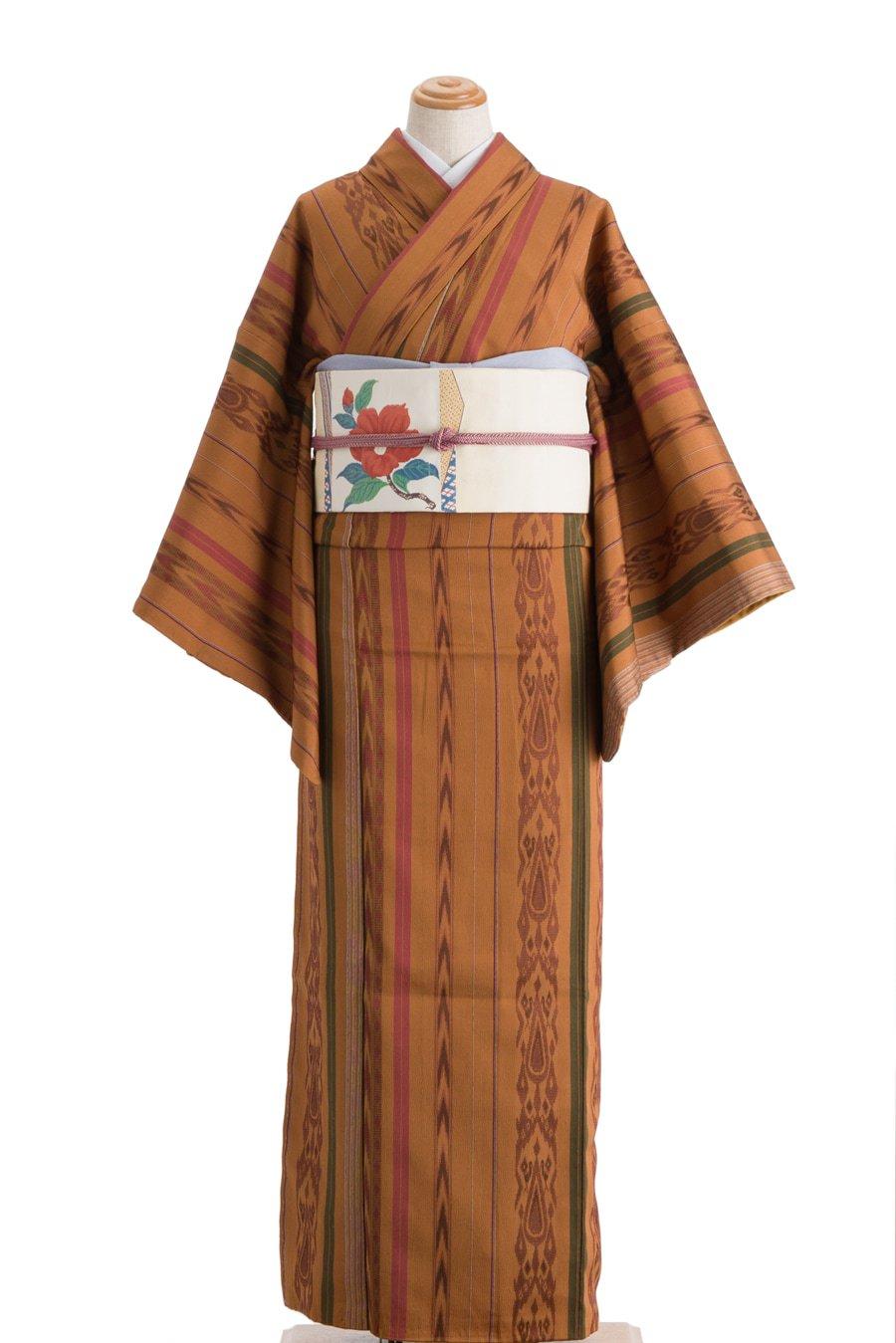 「お召 木目風の縞」の商品画像
