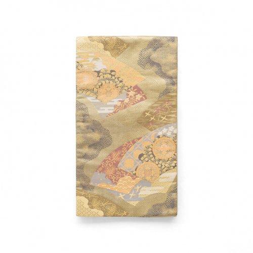 袋帯●扇面に華紋や青海波などのサムネイル画像