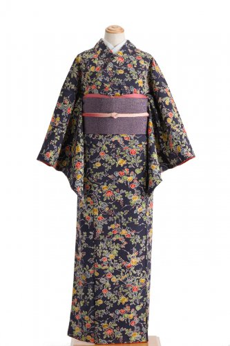 紺紫に橘 菊 萩などのサムネイル画像