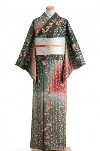 総柄訪問着 枝垂れ桜のサムネイル画像