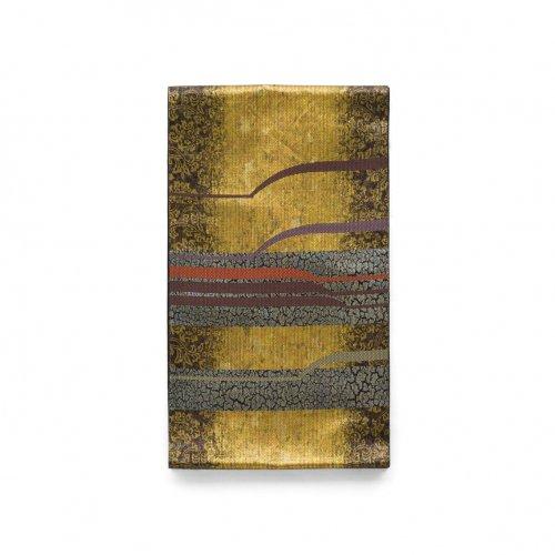 袋帯●金地にモダンなラインのサムネイル画像