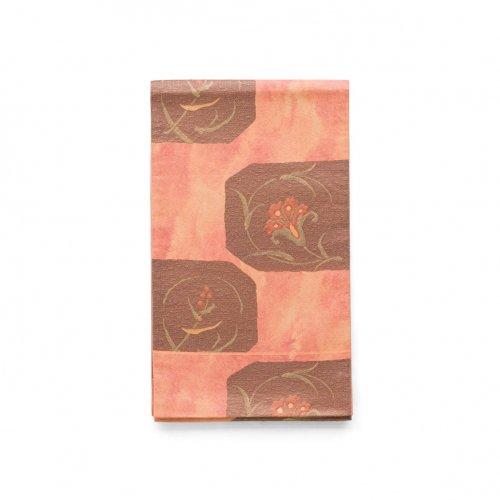 洒落袋帯●赤い実や花のサムネイル画像