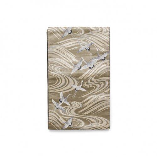 袋帯●流水に鶴のサムネイル画像
