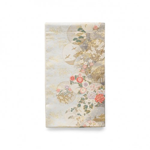 袋帯●丸に花や鶴などのサムネイル画像