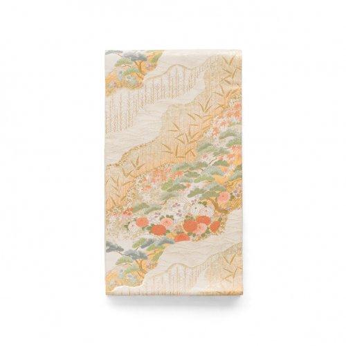 袋帯●道長取りに松 菊 紅葉などのサムネイル画像